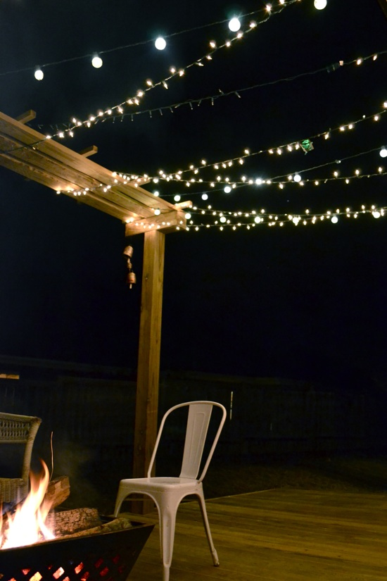Deck and arbor by d+p Design Build