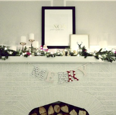 White Christmas @ The Lovely Bee (via TheEverygirl)