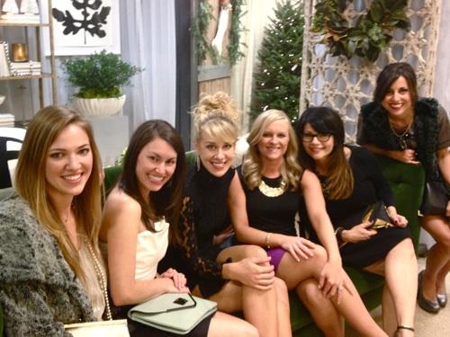 Laurel, Chelsea, Elizabeth, Lindsey, Lisa and Elish