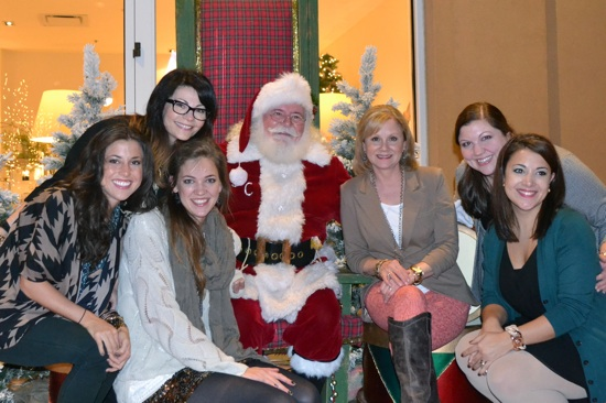 SummerHouse loves Santa!