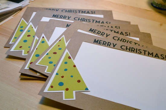 The Lovely Bee Christmas Cards