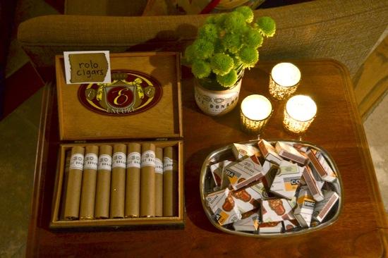 Cigar party favors