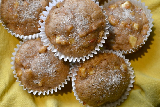 Apple Cinnamon Muffins   The Lovely Bee