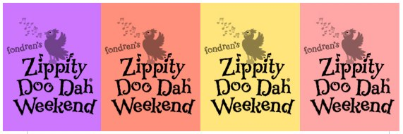 Zippity Doo Dah Weekend is here!