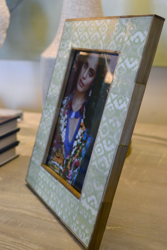 Gorgeous Greens: Mint Green Tribal Frame