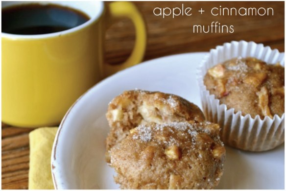 Apple Cinnamon Muffin Recipe | The Lovely Bee