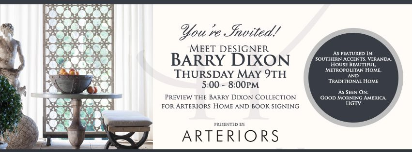 Barry Dixon is coming to SummerHouse!