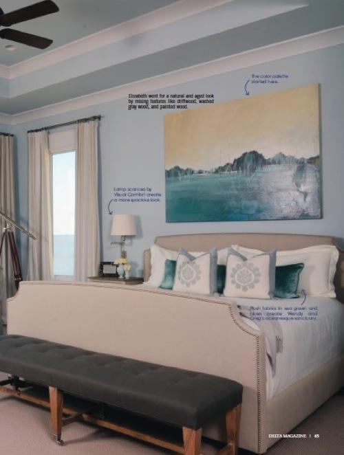Tranquil Retreat by Elizabeth Gullett // SummerHouse // Ridgeland, MS