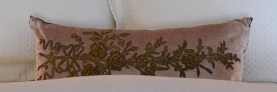 B. Viz Pillow // SummerHouse, Ridgeland, MS