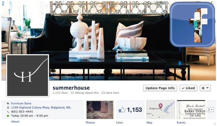 SummerHouse on Facebook