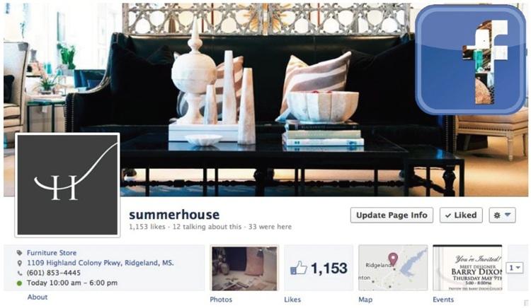 SummerHouse on Facebook