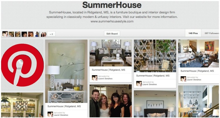 SummerHouse on Pinterest