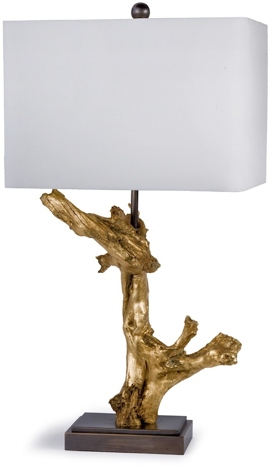 Gilded Driftwood Lamp by Regina Andrew :: The SummerHouse staff's favorite lamps