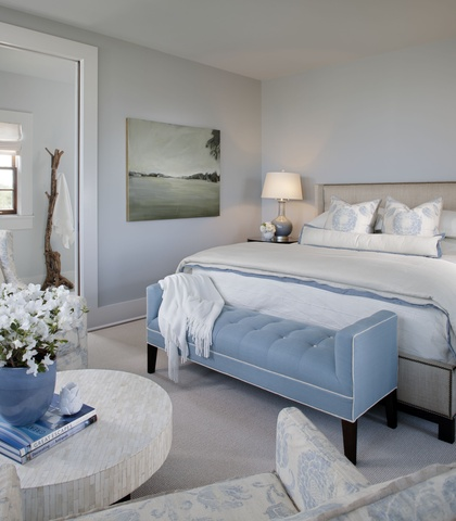Master Bedroom design by Elizabeth Gullett // SummerHouse
