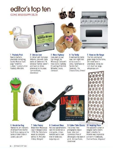Delta Magazine, July-August, 2013