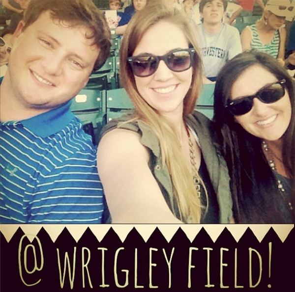 Wrigley Field!! // Chicago // The Lovely Bee