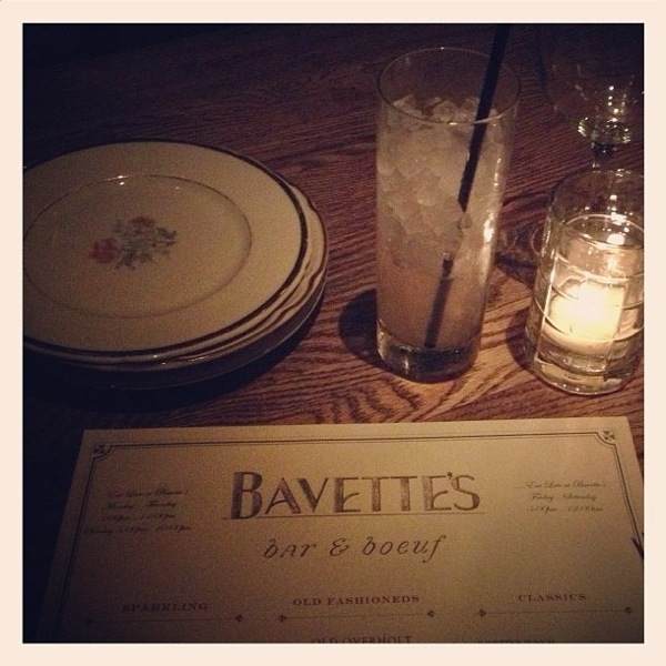 Bavette's in Chicago // The Lovely Bee