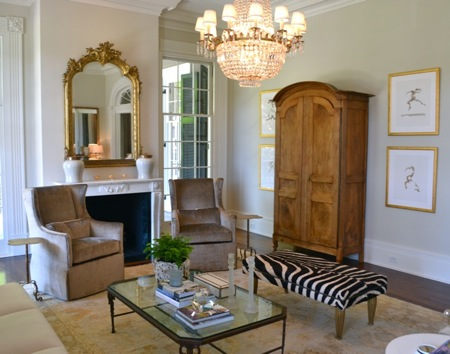 10 Lovely Living Rooms // SummerHouse, Ridgeland, MS