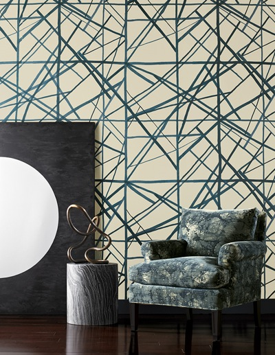 Channels Wallpaper by Kelly Wearstler // SummerHouse, Ridgeland, MS