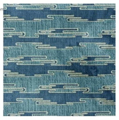 Sora Velvet Aqua/Blue by Kelly Wearstler // SummerHouse, Ridgeland, MS