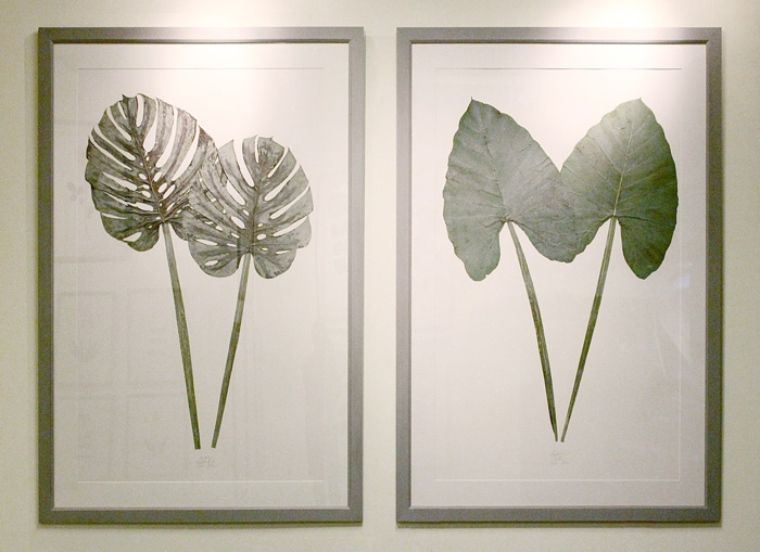 Botanical Pressed Art by Lauren Lachance // SummerHouse