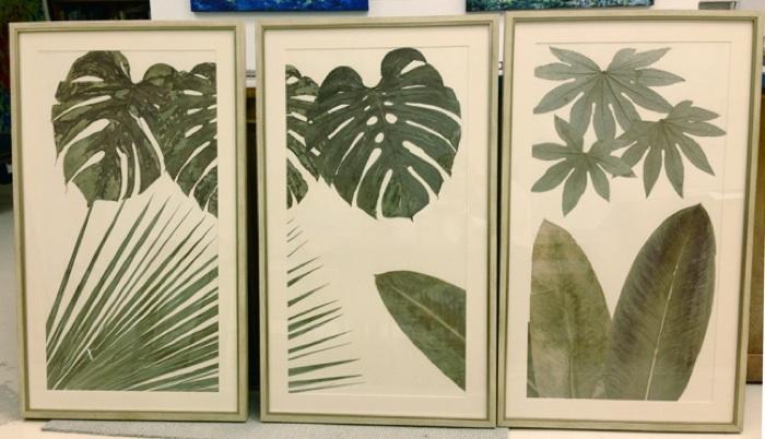 Botanical Pressed Art by Lauren Lachance // SummerHouse