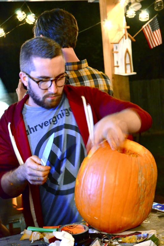 J&K's Pumpkin Laceration Celebration featured on { THE HIVE }