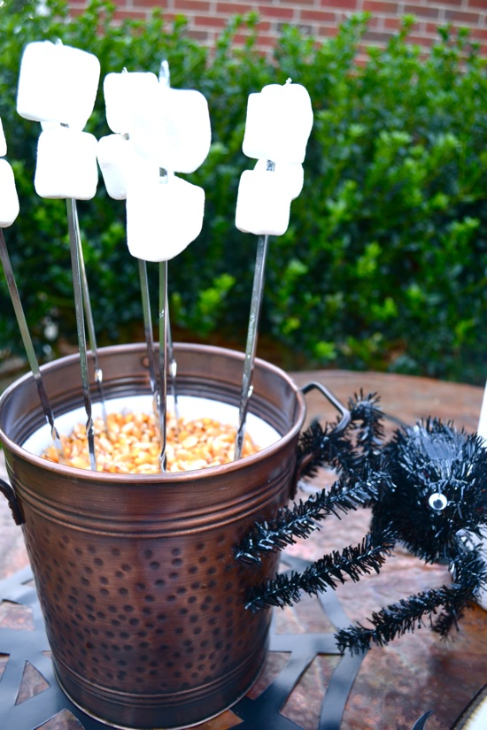 S'more bar // J&K's Pumpkin Laceration Celebration featured on { THE HIVE }