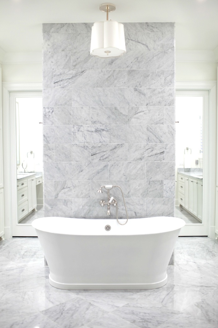 Fenwick Residence Bathroom by Designer Elizabeth Gullett // SummerHouse