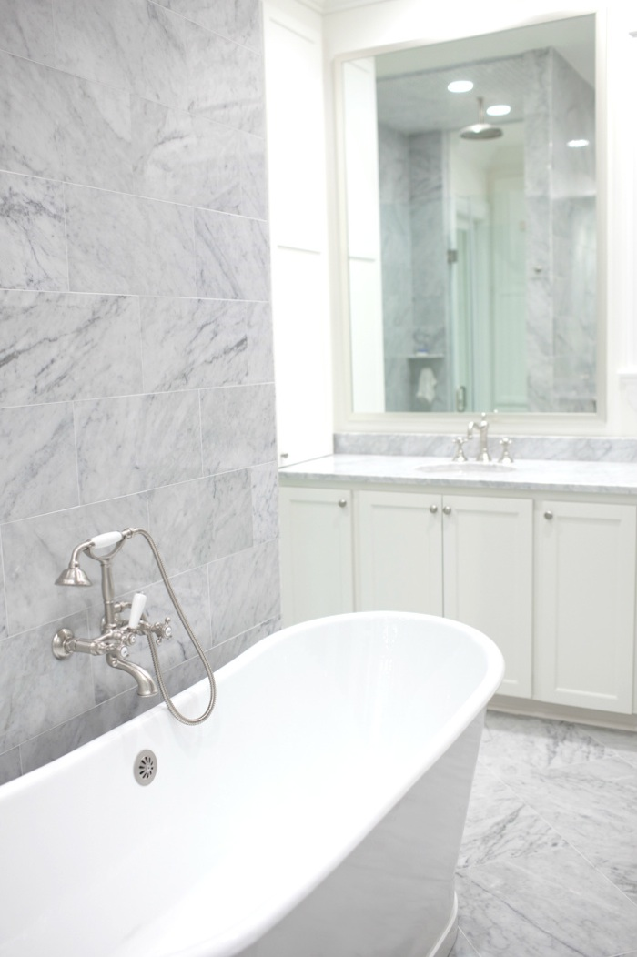 Fenwick Residence Bathroom by Designer Elizabeth Gullett // SummerHouse