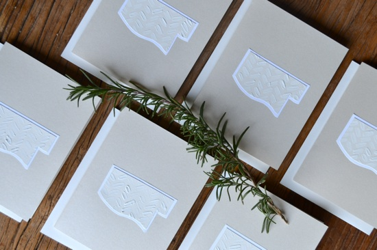 Mississippi in White // handmade stationery // The Lovely Bee