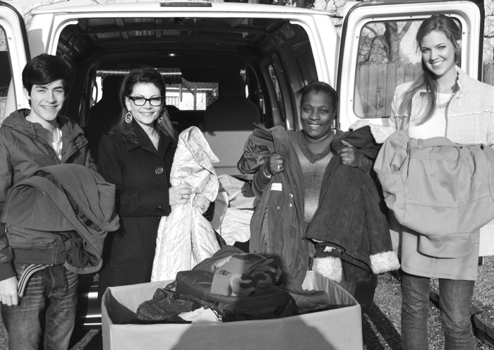 Delivery of coats to Stewpot Community Services in Jackson, MS // SummerHouse