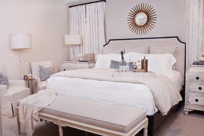 Master Bedroom by Interior Designer Casey Jenkins | SummerHouse