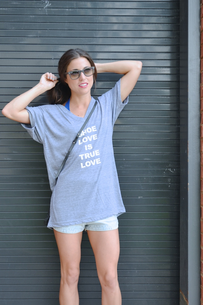 Shoe Love is True Love tee available exclusively at Arco Avenue! // THE HIVE + www.arcoavenue.com