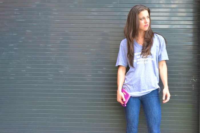 Shoes Make Me Happy. I'm Superficial. Whatever. tee available exclusively at Arco Avenue! // THE HIVE + www.arcoavenue.com