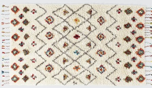 Rug from West Elm // THE HIVE