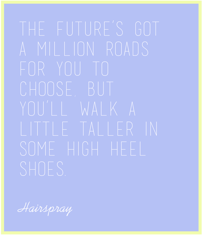 You'll walk a little taller in some high heel shoes...