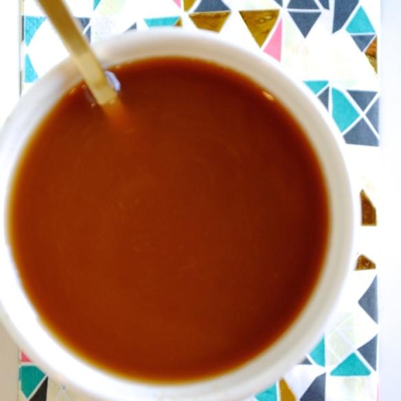 Low-Cal Pumpkin Pie Spice Coffee Creamer