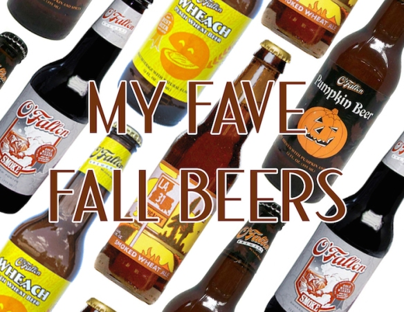 My Fall Faves: Fallish Craft Beers // THE HIVE